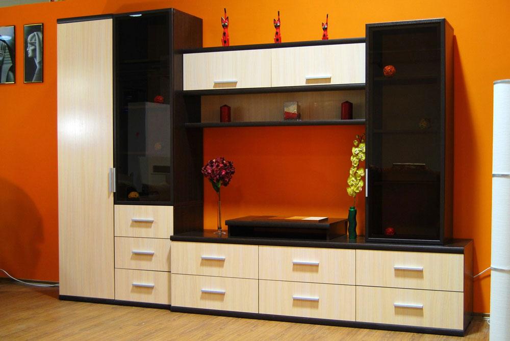 Мебель из ДСП: стенка.