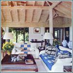 Дизайн интерьеров в стиле кантри - это всегда уютно и комфортно.