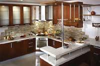 Стильные кухни, модель вариант