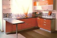 Стильные кухни, вариант 6