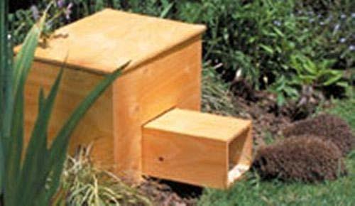 Как сделать домик для ежика / Органическое земледелие 83