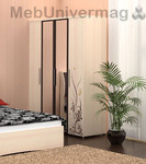 Шкаф для одежды 4-х дв. (с зеркалом) Марианна