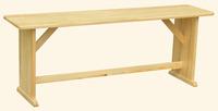 Скамейка деревянная Сосновая