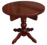 Стол круглый на 1 точеной ноге (150)