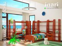 Вариант решения интерьера детской ИНАРИ (вариант A)