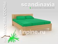 Кровать двуспальная SCANDINAVIA-1400
