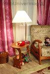 Стол журнальный 20649 с лампой (Арт. 7032-00)