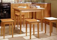 Стол обеденный раскладной 600-900 (прямая нога)