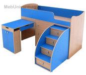 Детская кровать-чердак Малыш