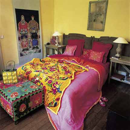 Декорирование в индийском стиле