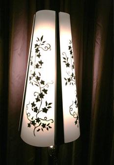 Декорирование абажура своими руками в.