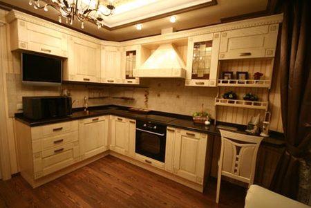 кухня 12 кв м в панельном доме.