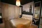 В изголовье кровати-принт с изображением Биг Бена