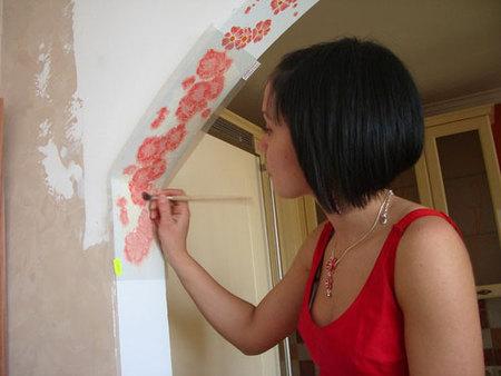 Чем украсить арку в квартире своими руками фото